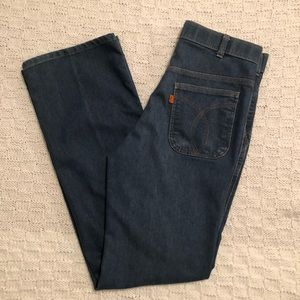 Vintage 1970s 1980s Levi's Orange Tab Jeans